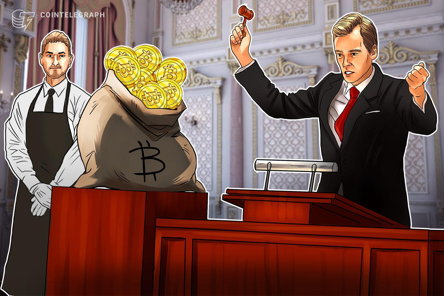 Alguaciles de Estados Unidos ponen en subasta más de 600 bitcoins confiscados