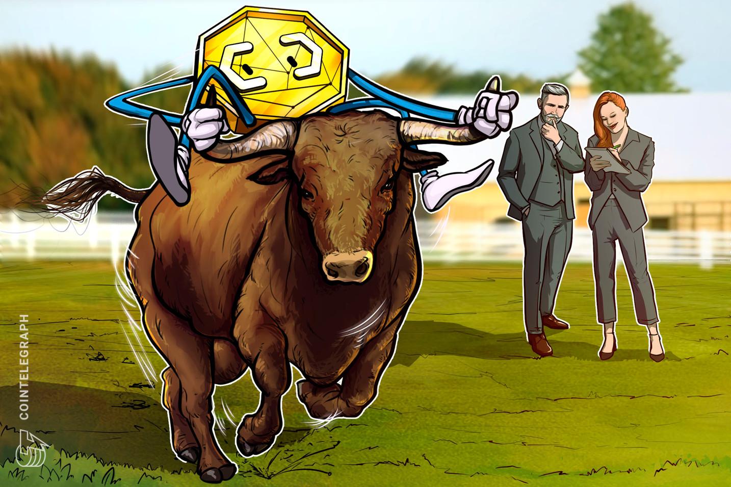 Nova 'bull run' é 'inevitável' para as criptomoedas, diz CEO da Digital Assets Data