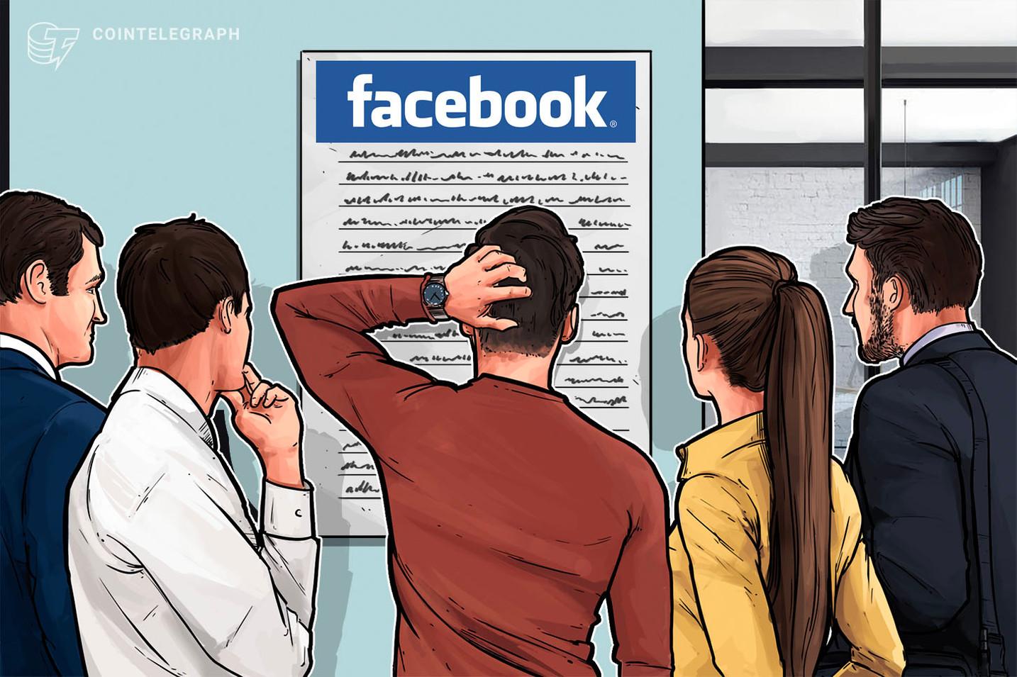 Informe: Facebook asegura el apoyo de docenas de nuevas empresas para su criptoproyecto