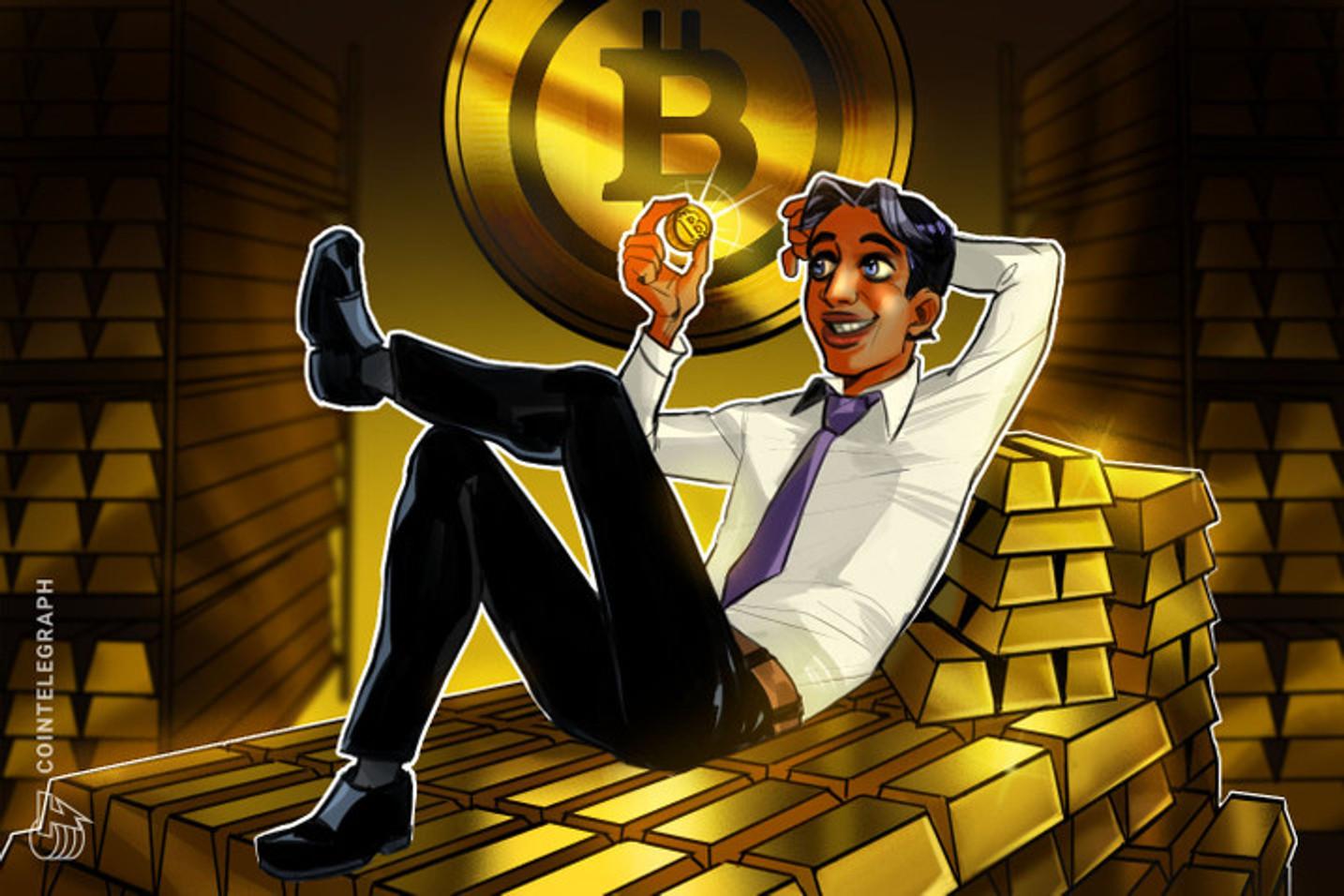 Exchange de derivativos BTSE lança contratos futuros de ouro com preços em Bitcoin