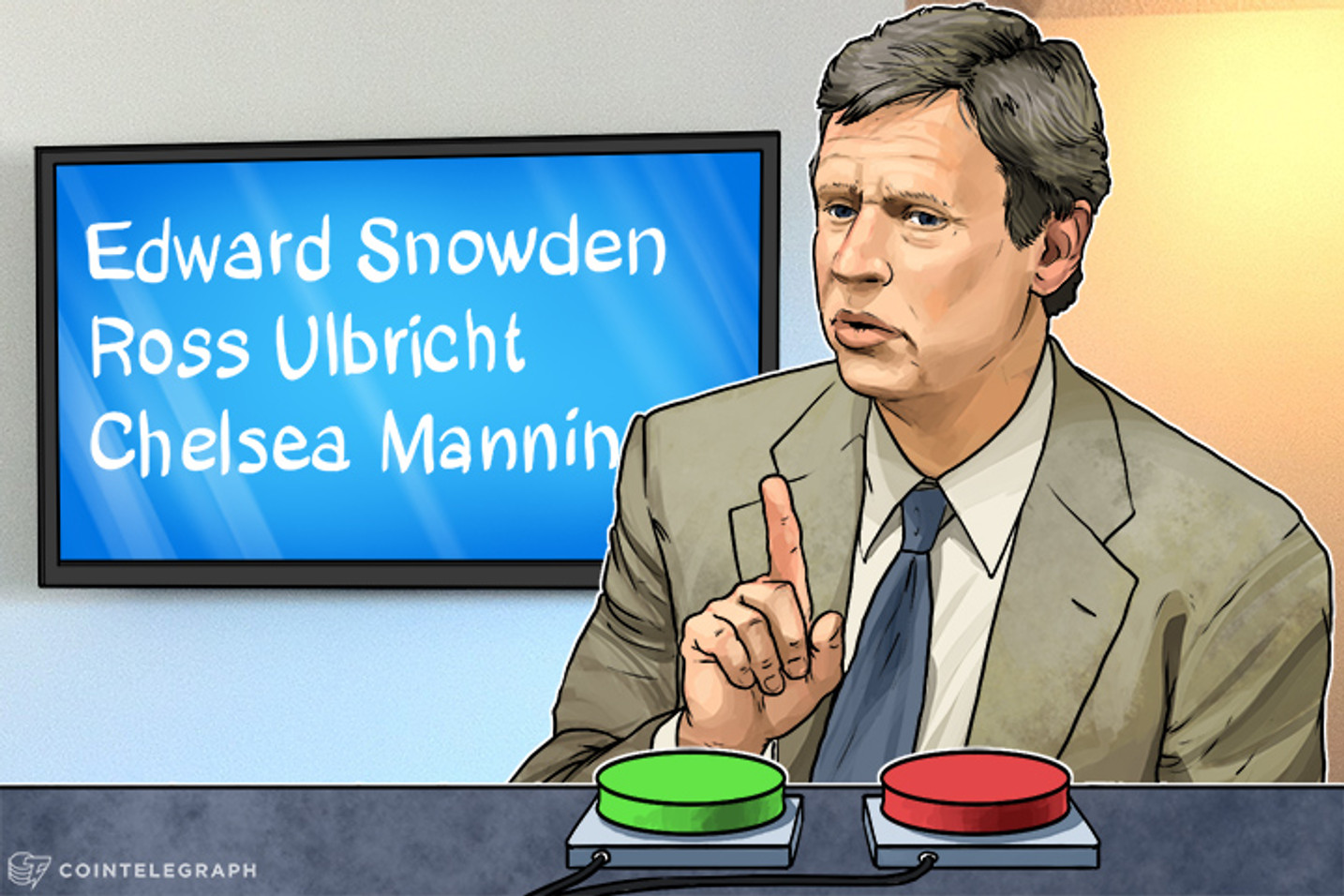 "Gary Johnson Would ""Look Seriously At"" Pardoning Ross Ulbricht, Edward Snowden, Chelsea Manning"