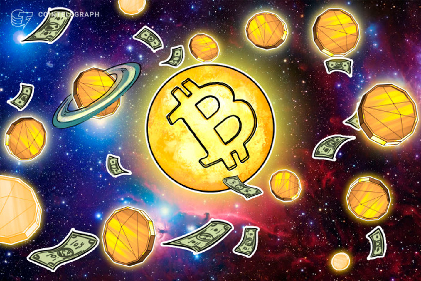 仮想通貨運用のグレイスケール、ビットコイン投信の運用資産が50万BTC突破