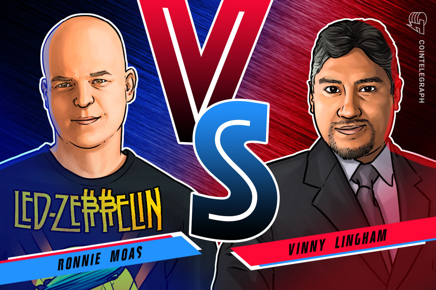 Ronnie Moas y Vinny Lingham pelean por una apuesta de USD 20K en Bitcoin
