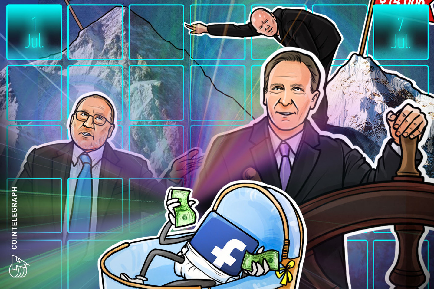 Hodler's Digest, July 1–7: Top Stories, Price Movements, Quotes and FUD of the Week