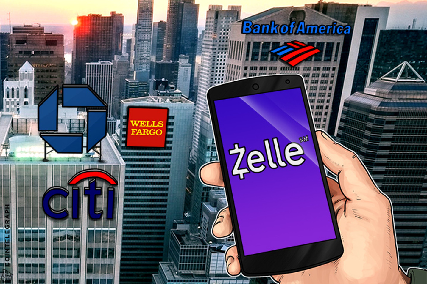 Top US Banks That Experiment With Blockchain To Release Money Transfer App in 2017