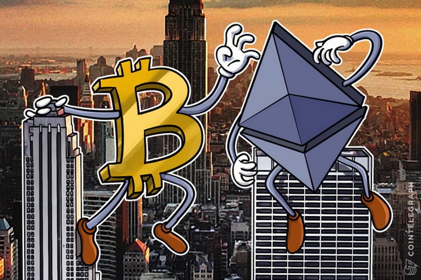 Bitcoin, Ethereum Soar As Crypto Reaches 90% of Record Market Cap