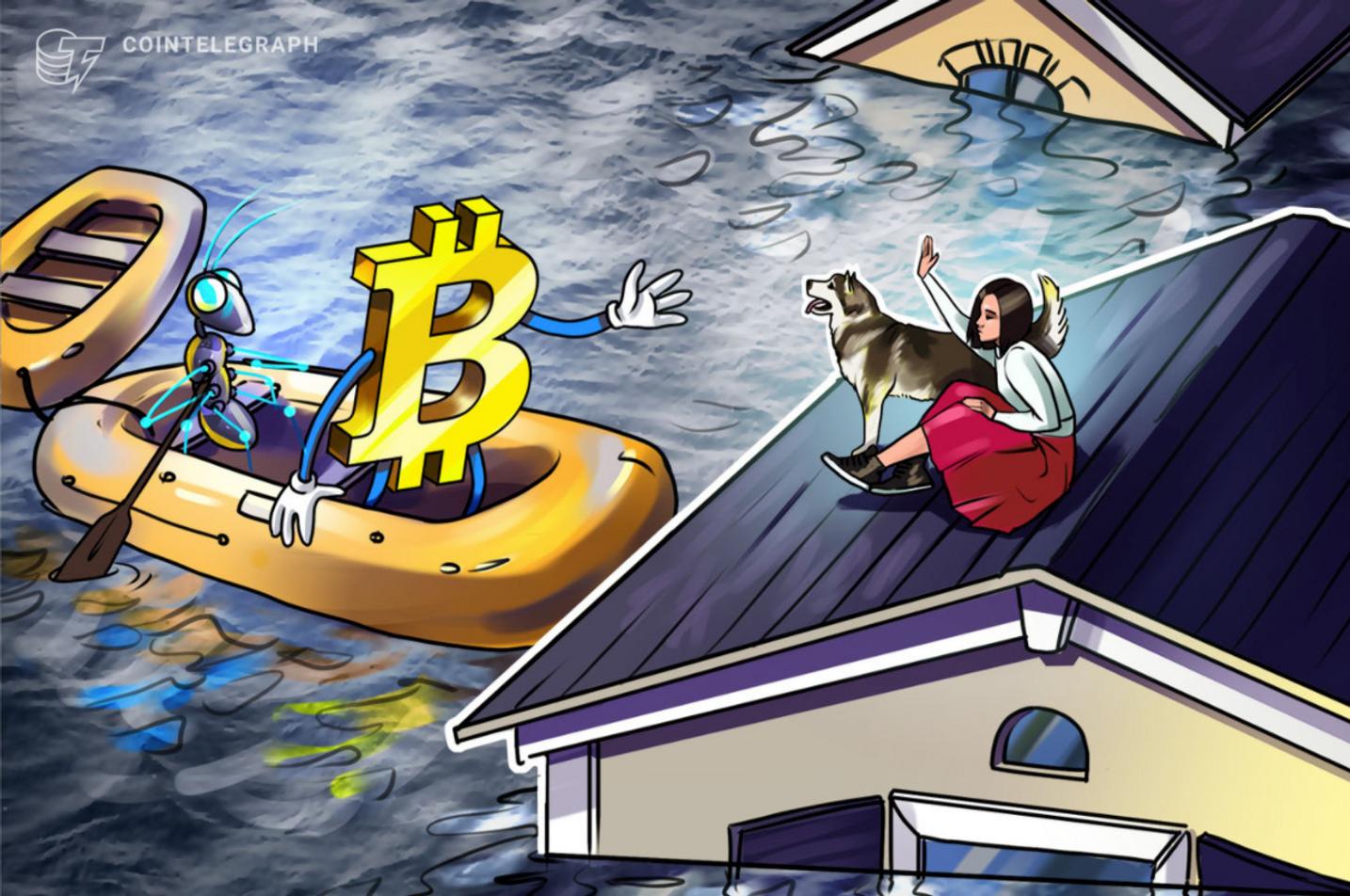 Bitcoin Madenini Su Bastı!