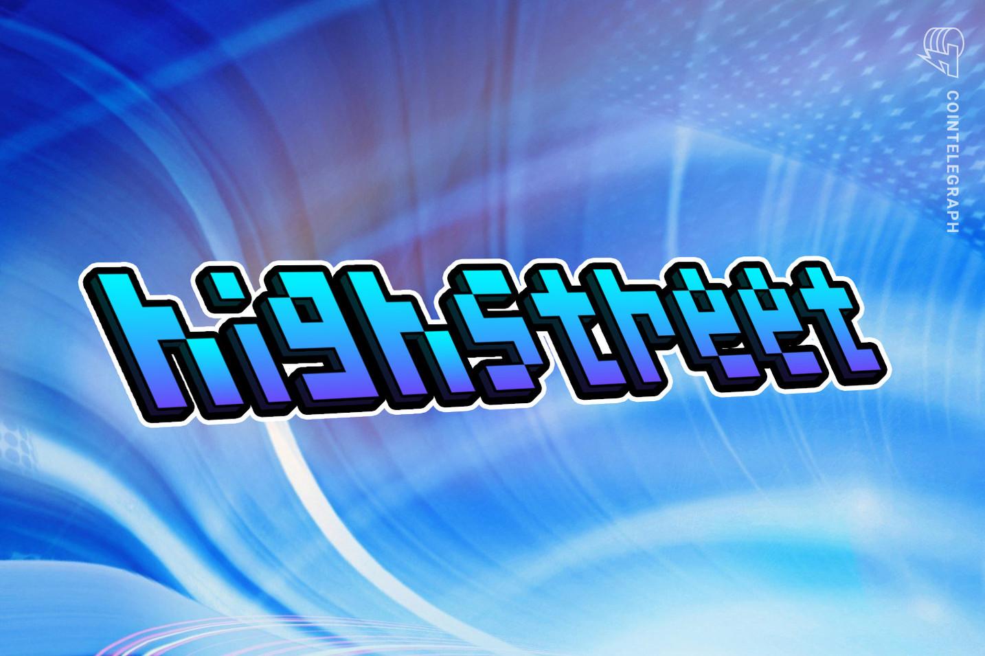 Highstreet raises strategic round led by Binance and Animoca Brands