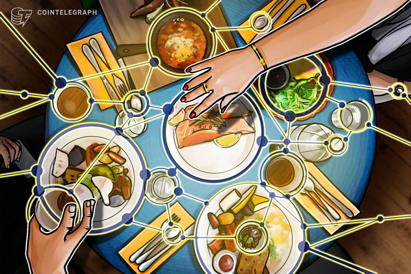 VeChain's Latest Blockchain Application Makes Food Safer