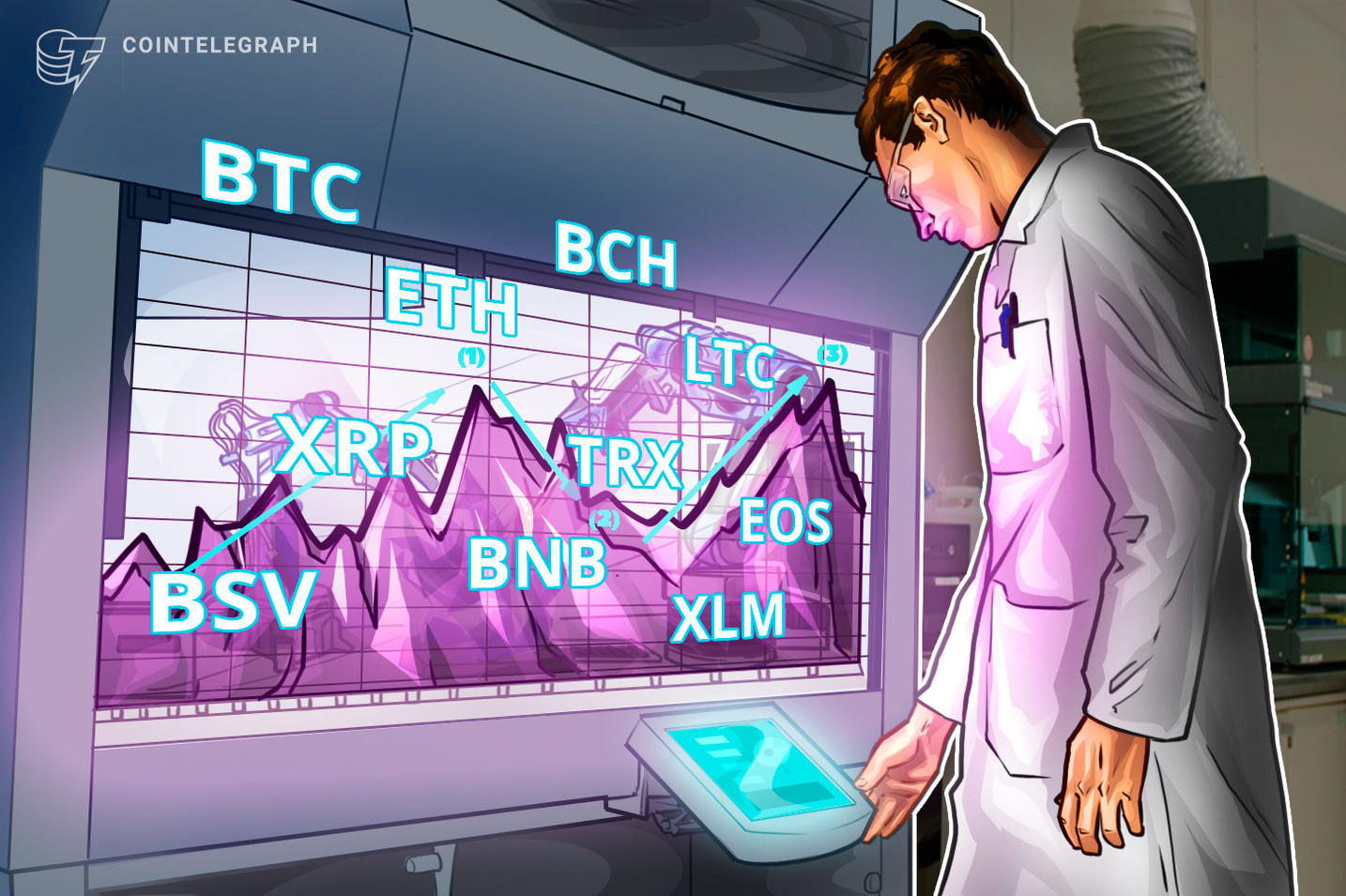 Análise de preços 22/11: BTC, ETH, XRP, BCH, LTC, EOS, BNB, BSV, XLM, TRX