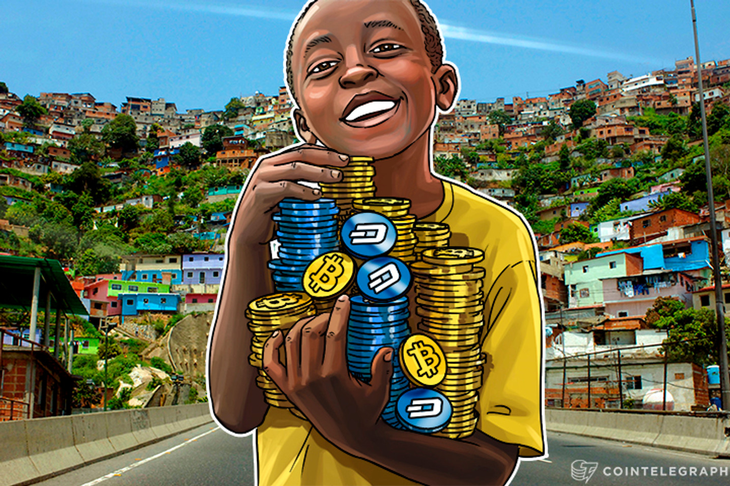 Crisis-Torn Venezuelans Opt For Dash and Bitcoin