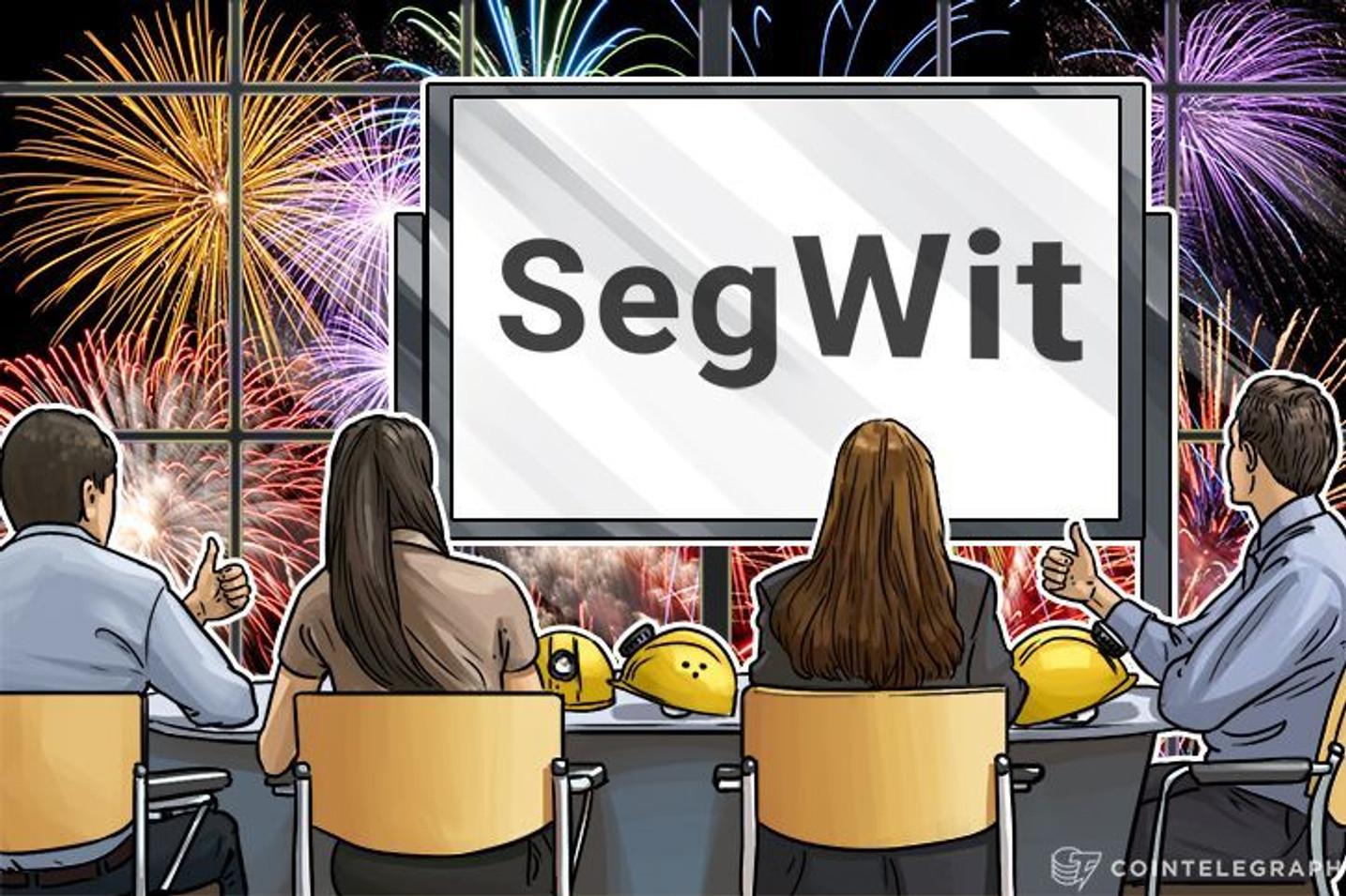 Bitcoin:Segwitが有効化。Max Keiser氏はBitcoinの仮予想価格を10,000ドル(8/25時点、約110万円)にまで引き上げた。