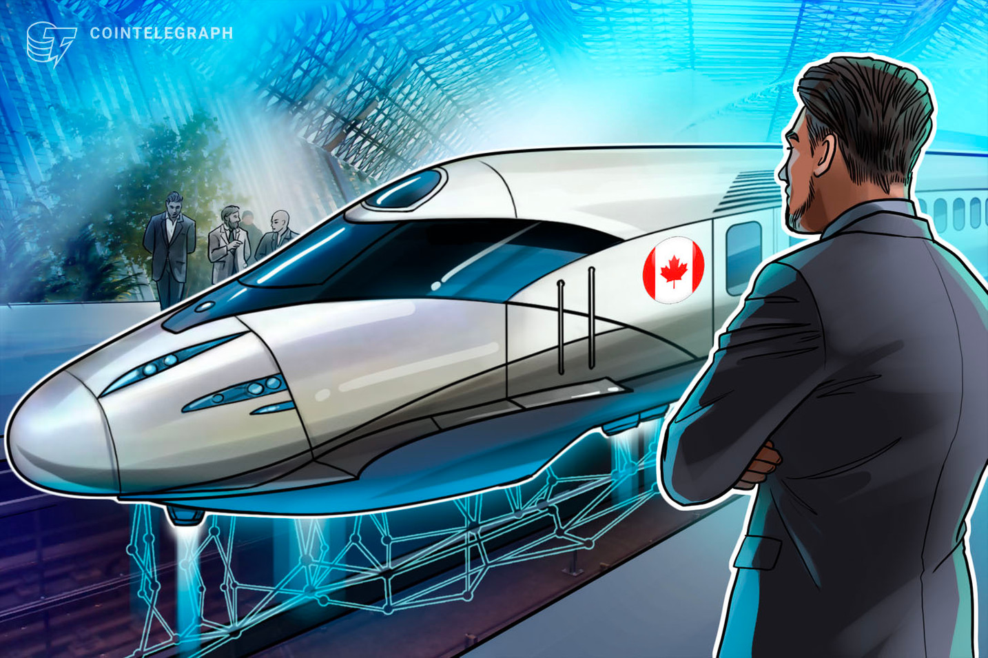 Canadian Transcontinental Railway Joins Blockchain in Transport Alliance