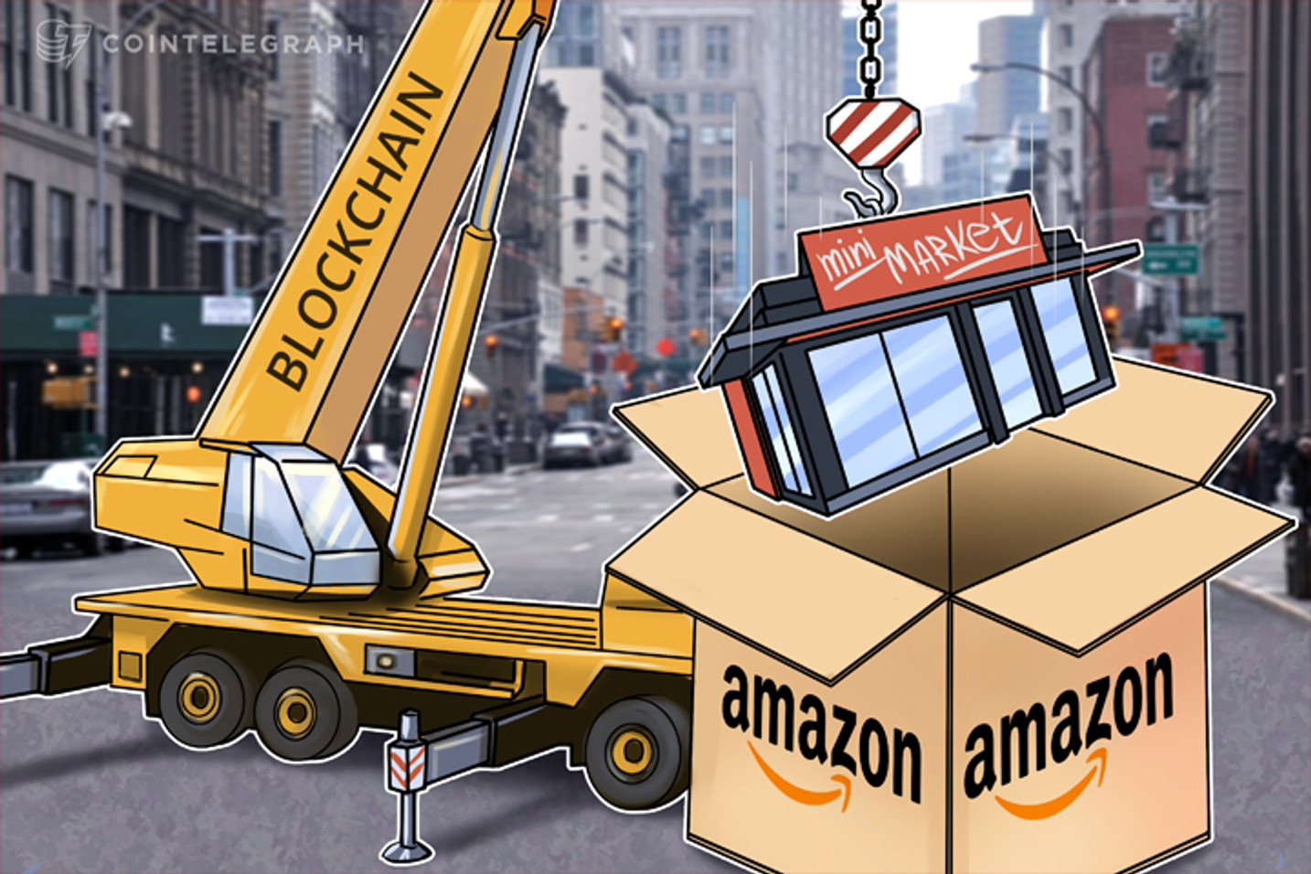 Amazon Decentralized: How Blockchain Tech Will Transform Online Retail, Networking