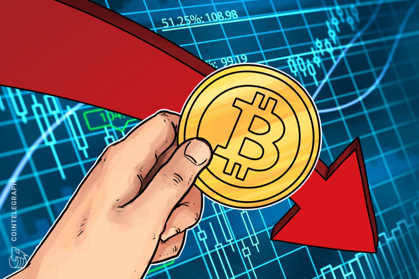 Bitcoin rutscht unter 7.000 US-Dollar, Hackerangriff auf Upbit möglicher Auslöser