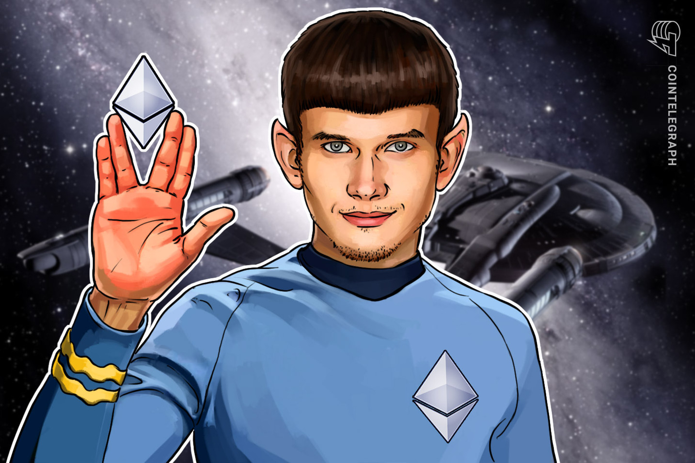 Set Phasers to HODL: Star Trek's William Shatner Tweets in Support of Vitalik Buterin