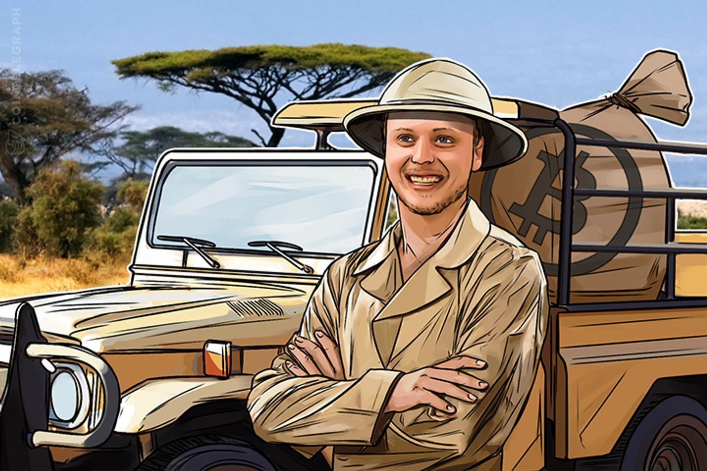 Millonario de Bitcoin de 25 años viaja por el mundo, se convierte en impulsor de Bitcoin
