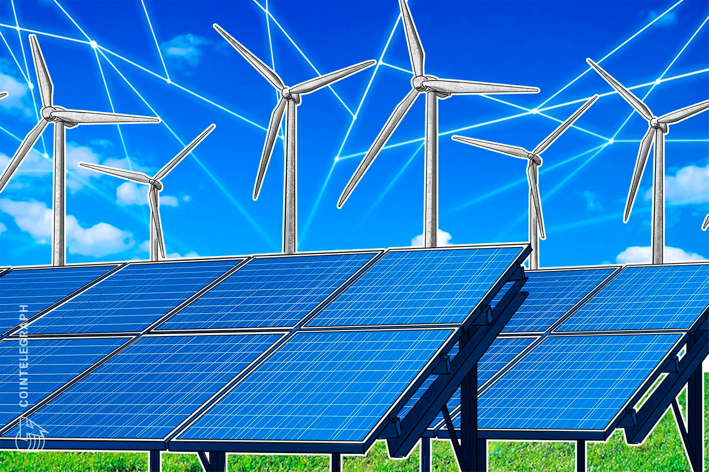 Solar Power Supplier Kyocera Teams up With Blockchain Firm to Improve Energy Distribution