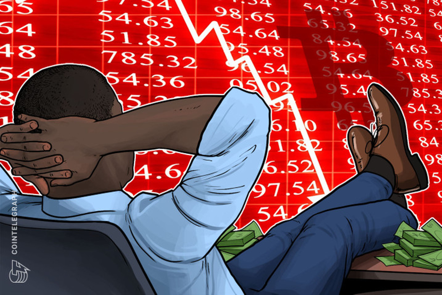 Apertem os cintos a bolha vai estourar e o Bitcoin é só uma máquina de especuladores, diz economista que previu duas crises econômicas