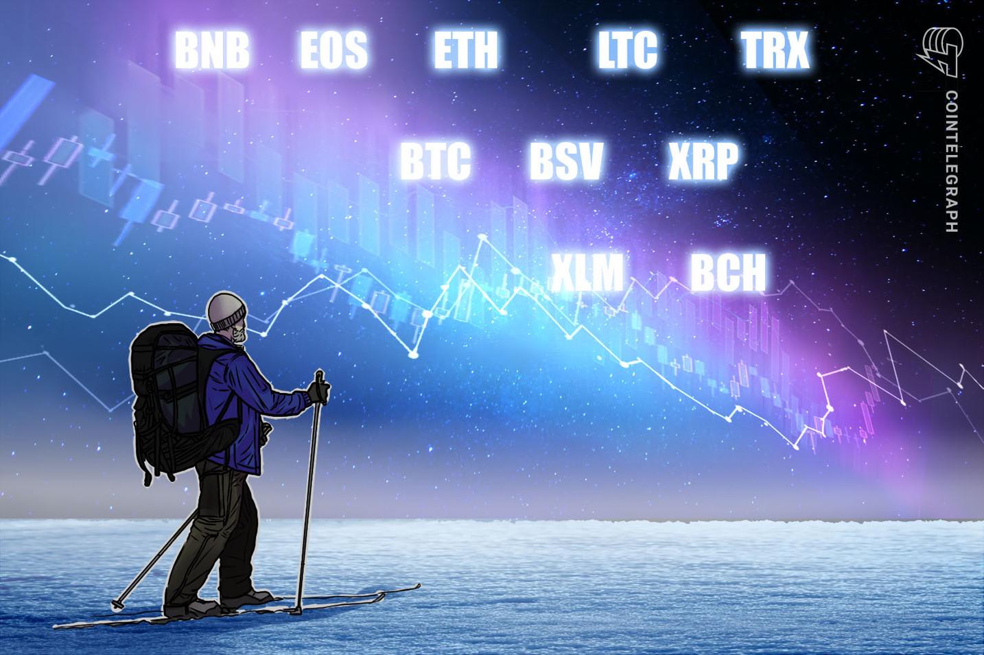 Bitcoin, Ethereum, Ripple, EOS, Litecoin, Bitcoin Cash, Stellar, Tron, Binance Coin, Bitcoin SV: Análisis de precios, 1 de marzo