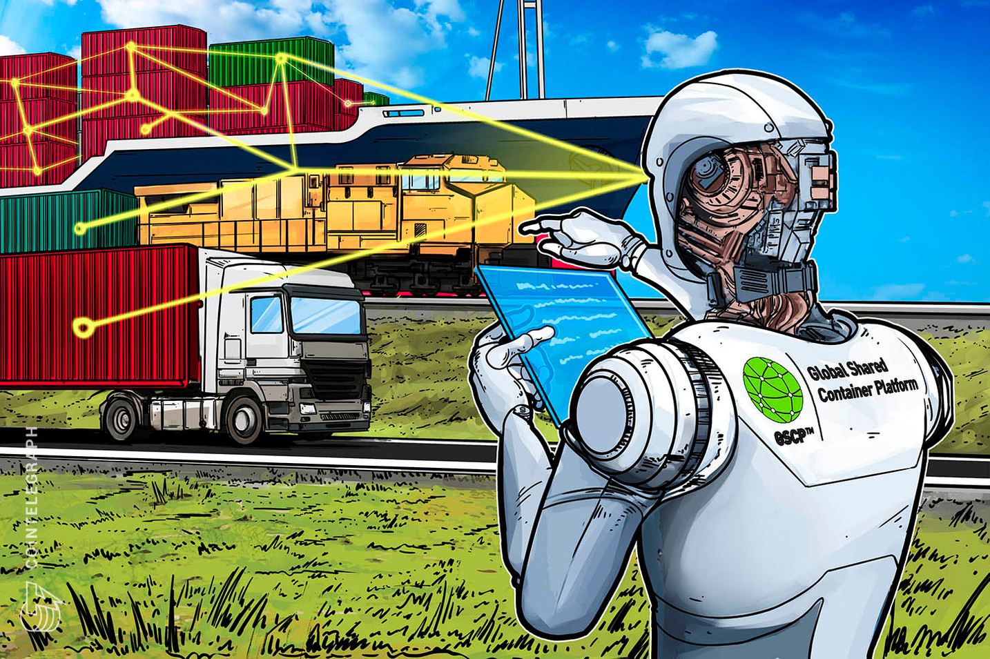 Scandinavian Start-Up To Track World's Shipping Containers Through Blockchain