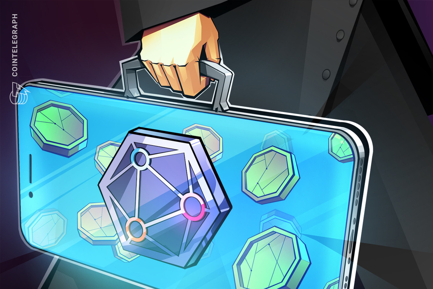 This blockchain network lets users 'geomine' crypto rewards from their smartphones