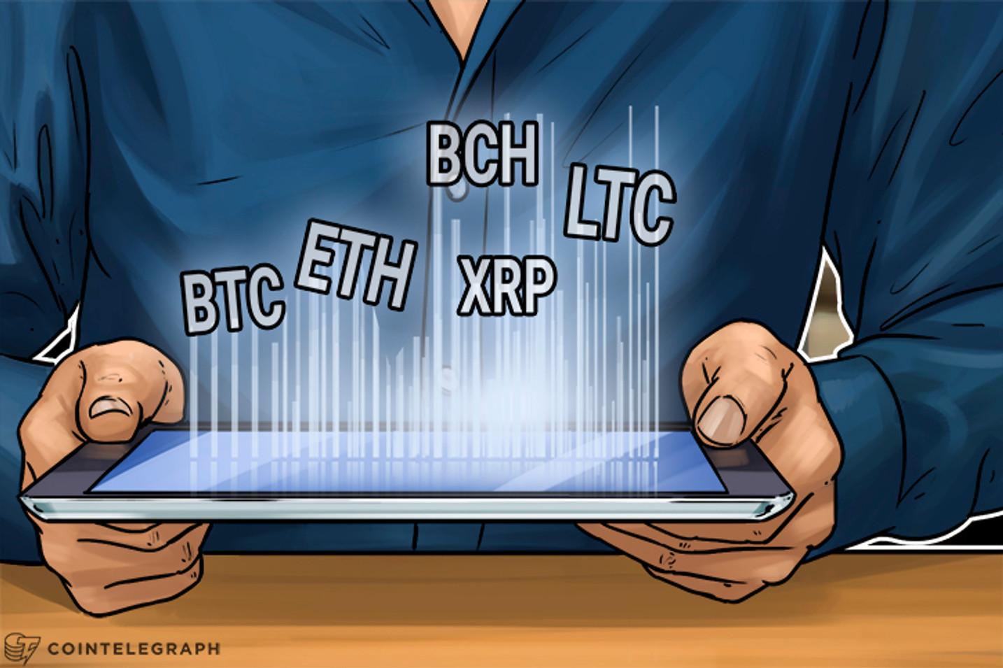 Bitcoin, Ethereum, Bitcoin Cash, Ripple, Litecoin: Price Analysis, September 13