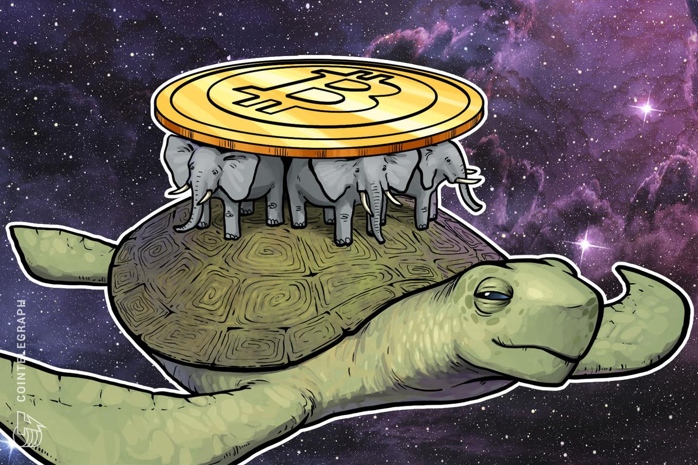 Bitcoins Volatilität könnte ihren Tiefpunkt erreicht haben - so der Präsident von Blue Line Futures