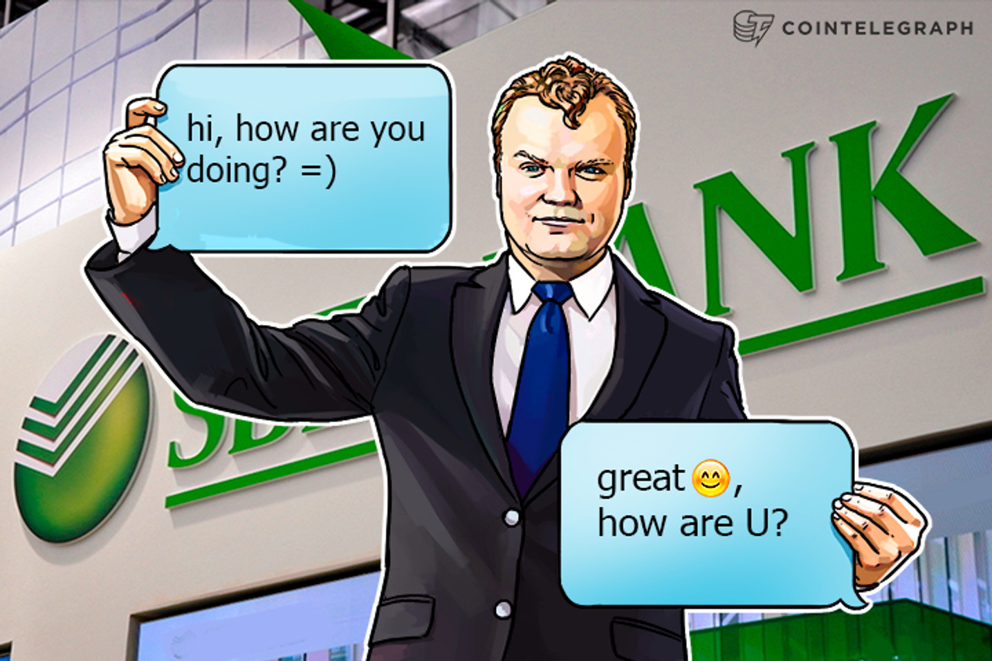 Russia's Largest Bank Adopts Blockchain, Develops App for Conversational Commerce