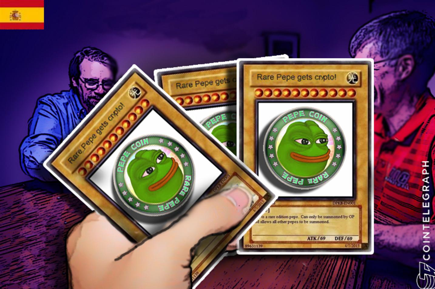 Las cartas digitales de Rare Pepe siguen ganando terreno