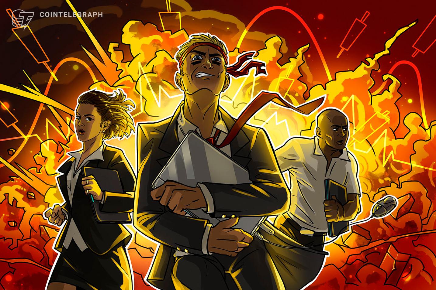 Bitcoin crolla a 7.400$: cancella completamente la crescita di ottobre