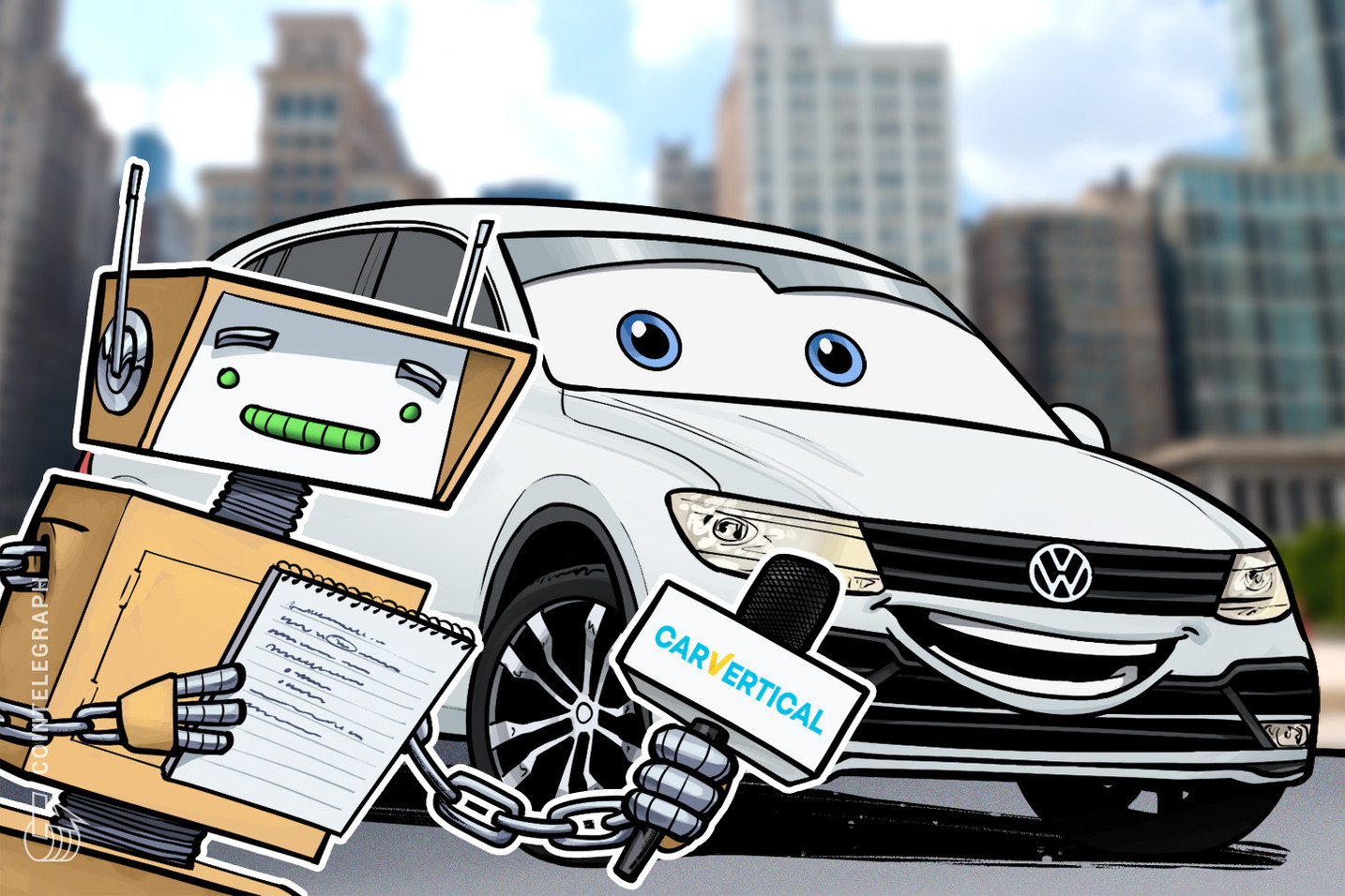 Volkswagen to Partner Blockchain-based Startup for Developing Automotive Applications