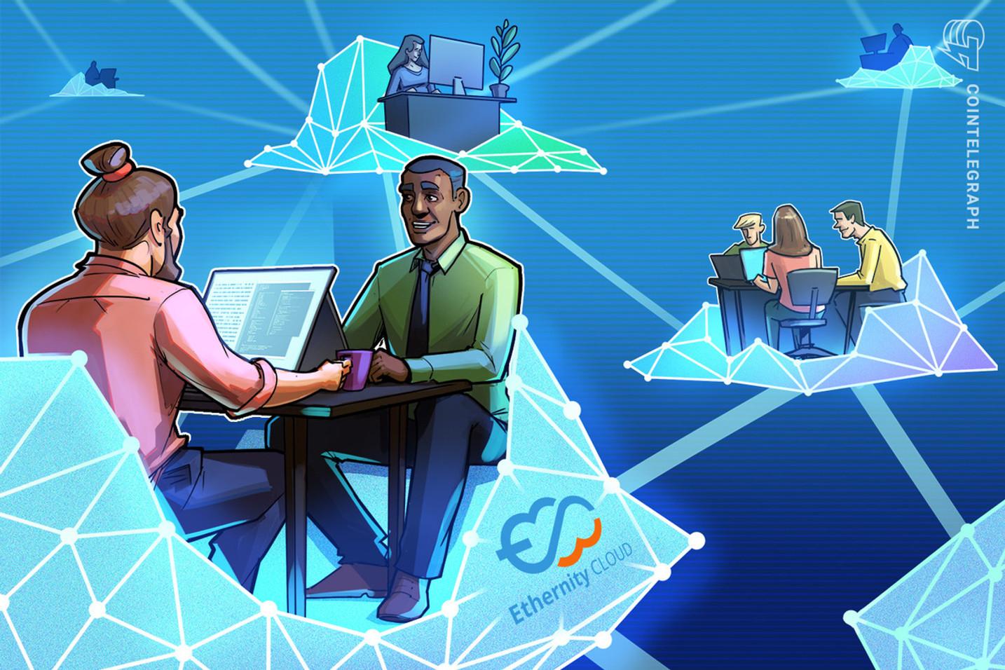 Decentralized cloud computing platform preserves internet privacy