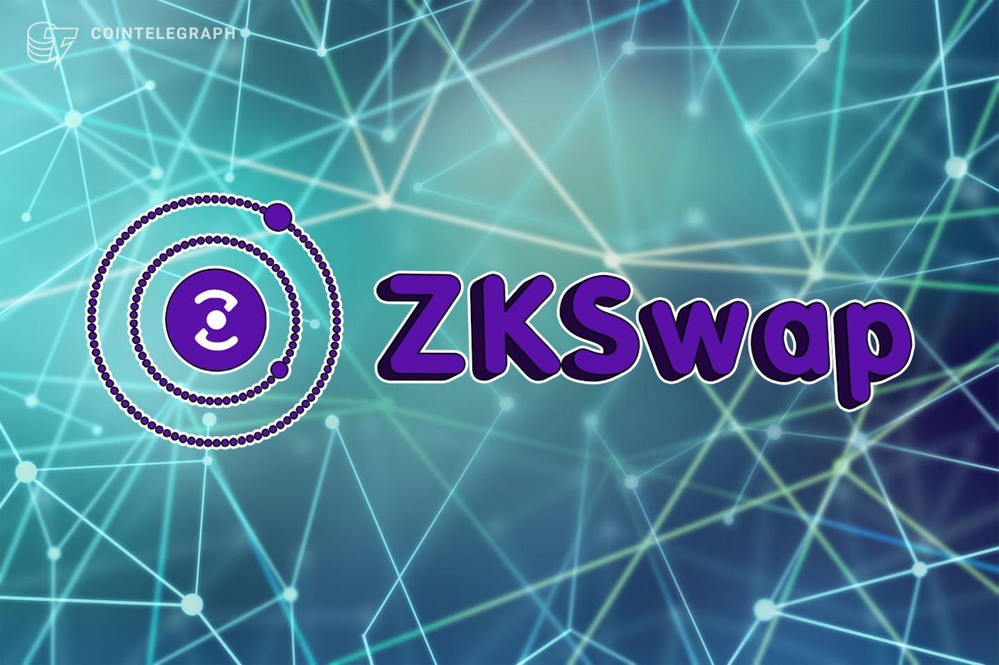 First AMM layer 2 DEX ZKSwap launches 1MM ZKS testnet incentive program