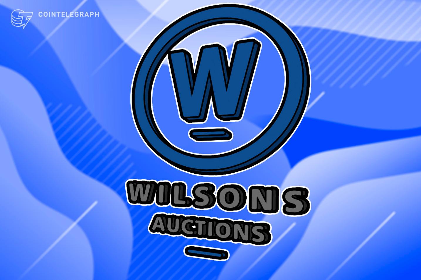 مزادات ويلسون توقع عقد بلجيكي جديد مع أول إطلاق لمزاد البيتكوين