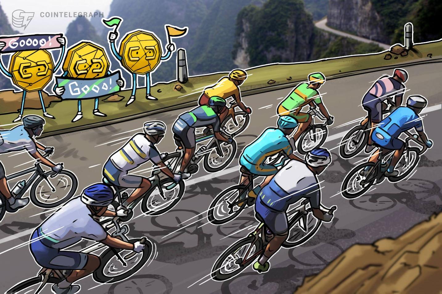 """أول """"دراجة إلكترونية تولِّد العملات الرقمية"""" في العالم تجني ٢٦ دولارًا أمريكيًا لكل ١٦٠٠ كيلومتر"""