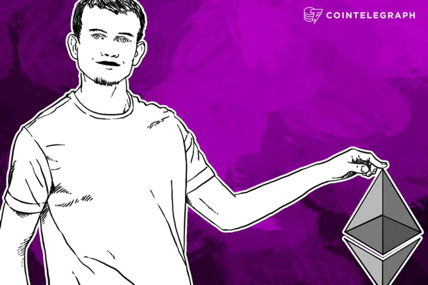 Ethereum Founder Vitalik Buterin Talks Cryptocurrency Governance