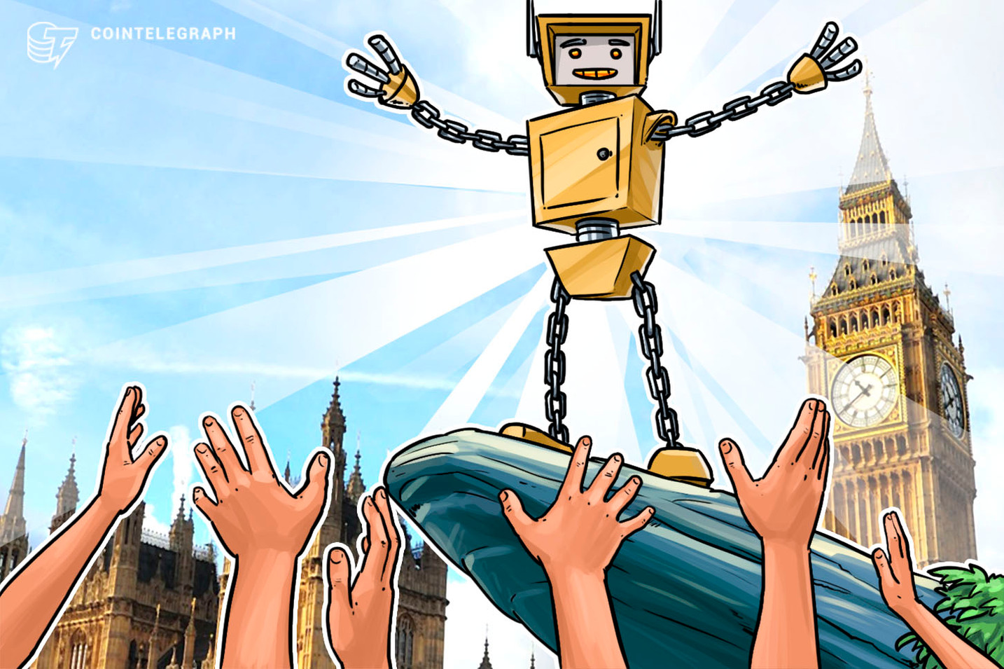 Use Blockchain to 'Rebuild Societal Trust' and Save £8 Billion, Report Tells UK Gov't