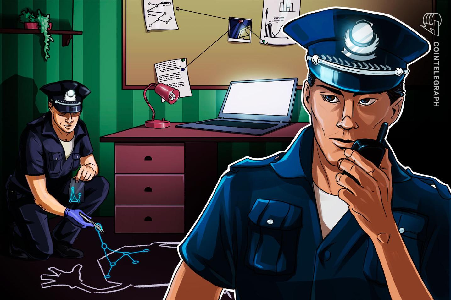 La policía china desmantela una estafa de criptomonedas de USD 14 millones
