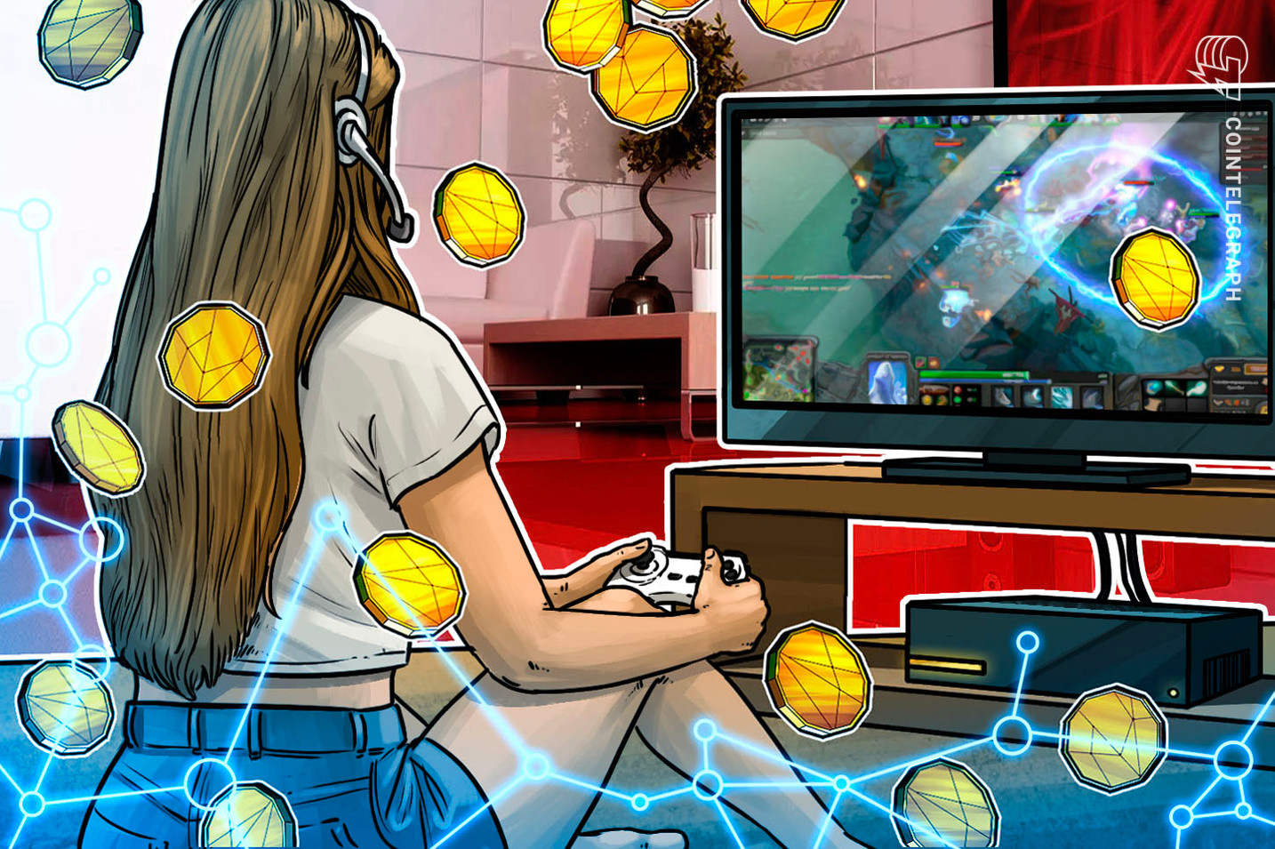 Twitch sale di livello con Bitcoin