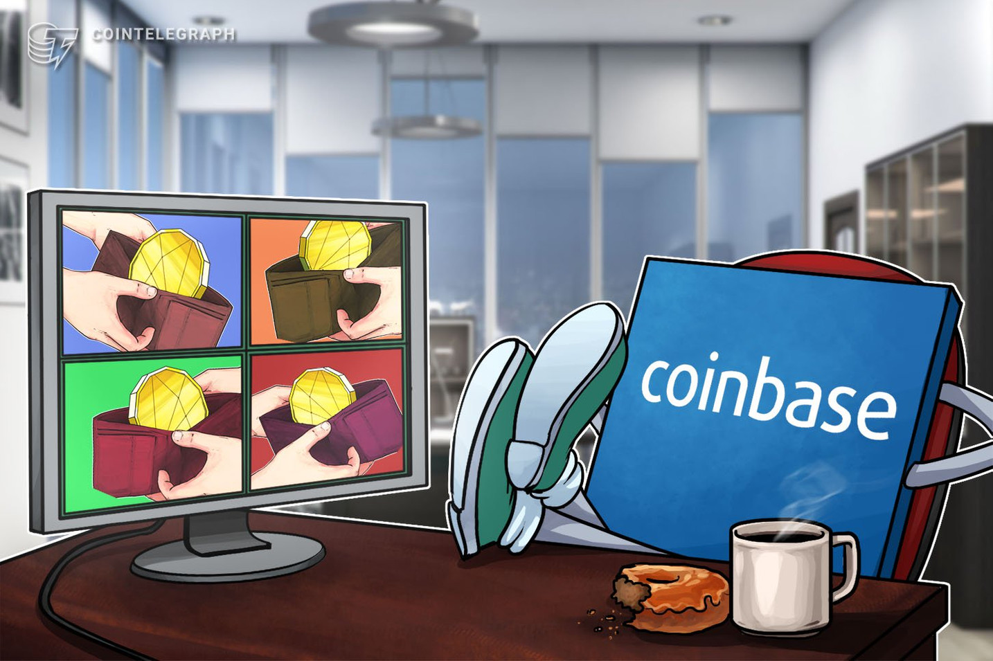 Kryptobörse Coinbase stellt neue Währungskonvertierung vor