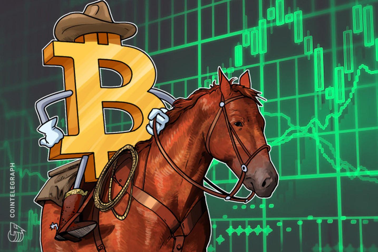 Según el economista Nicolás Litvinoff, el precio de bitcoin tiene una tendencia alcista a largo plazo