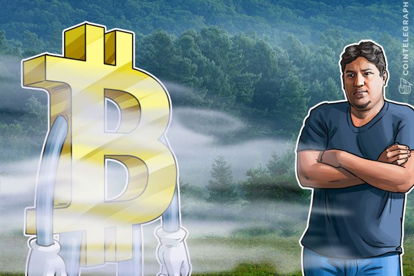 Chance of $1Mln Bitcoin 0.25%: Vinny Lingham