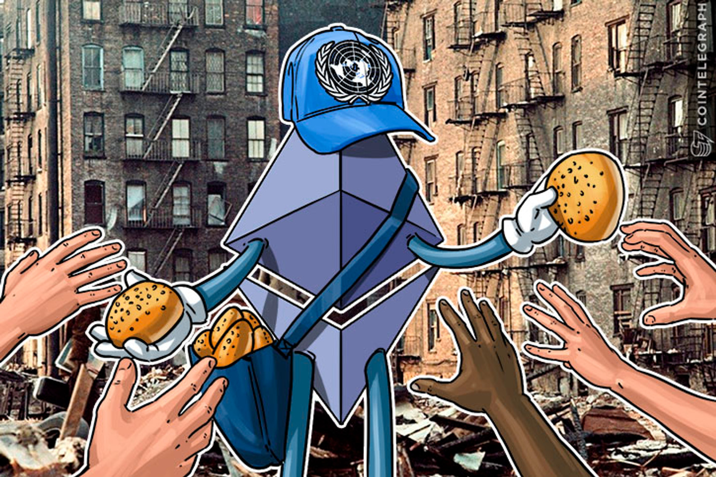 Ethereum Blockchain Will Help UN Go Cashless, Distribute Food to Hungry in Jordan