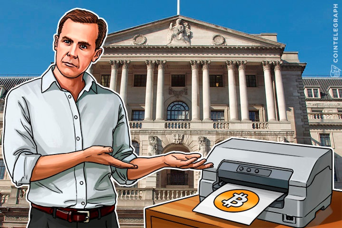 Central Bankers: If You Can't Beat Bitcoin, Print it and Control it