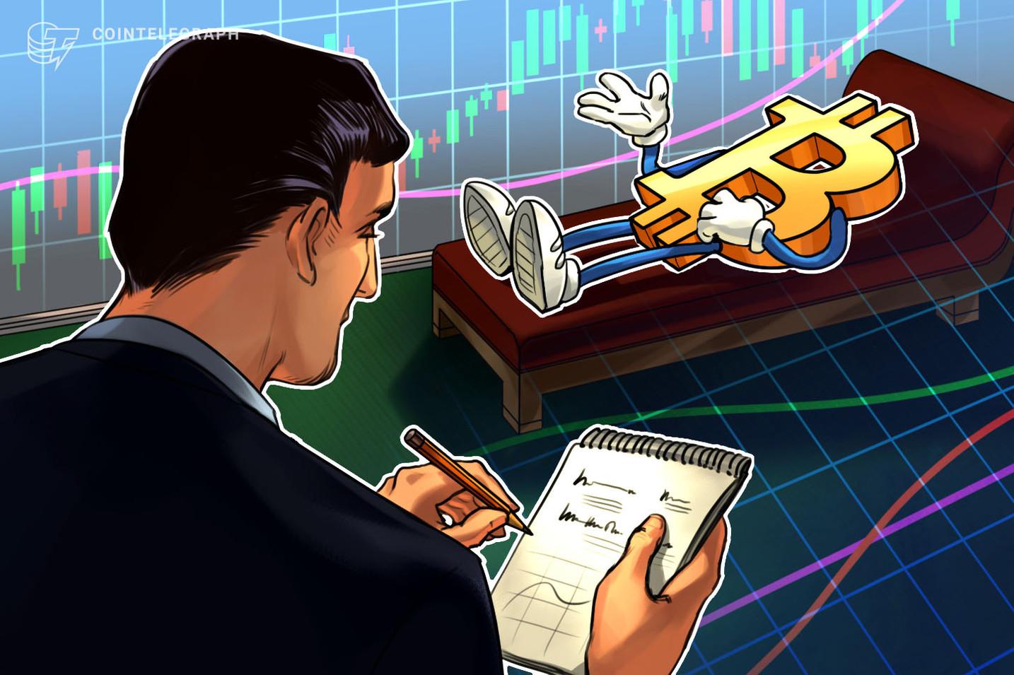 El precio de Bitcoin muestra signos ocultos de reversión. El próximo objetivo es 8.200 dólares