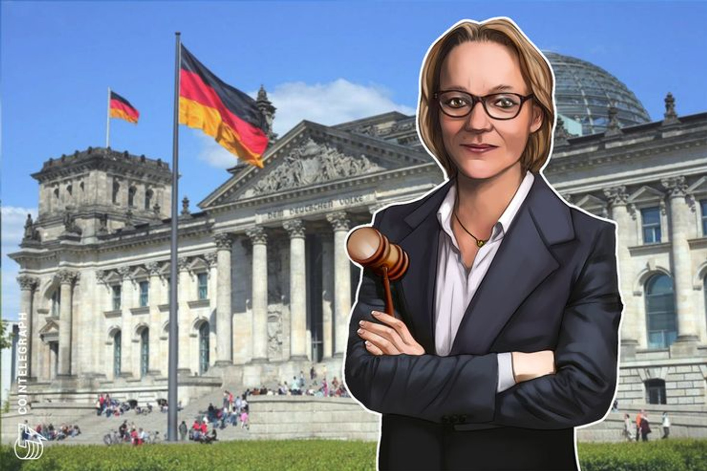 Dr. Nina-Luisa Siedler ist neue Direktorin der International Association for Trusted Blockchain Applications