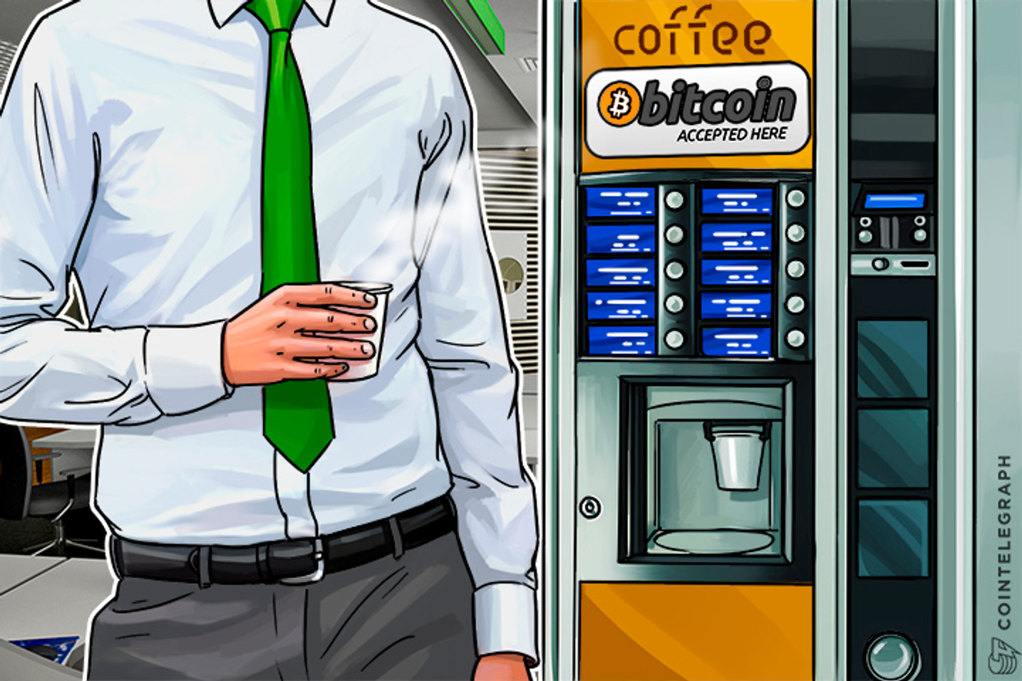 Russia's Largest State-Owned Bank's Cafe Accepts Bitcoin