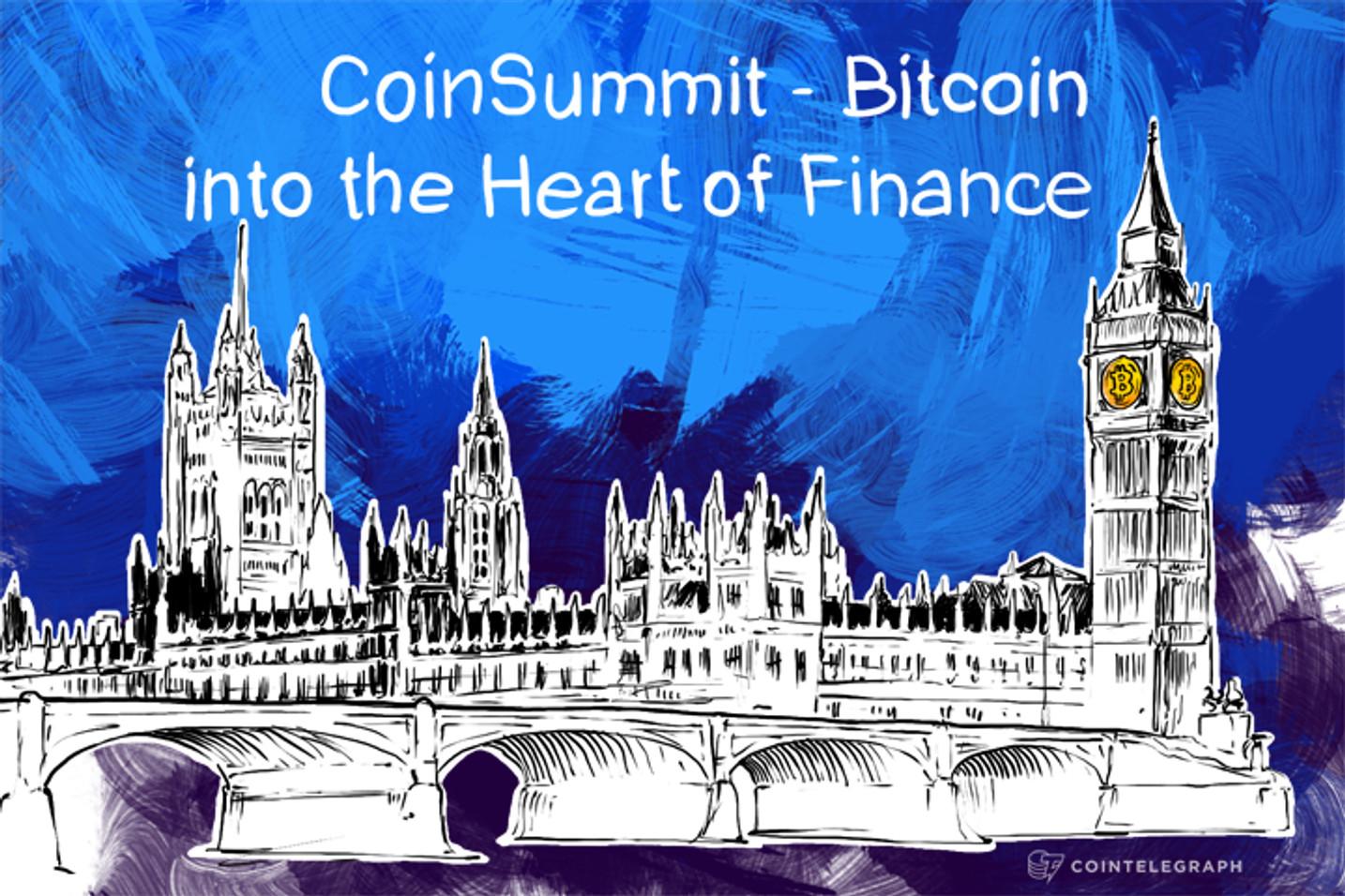 CoinSummit - Bitcoin into the Heart of Finance