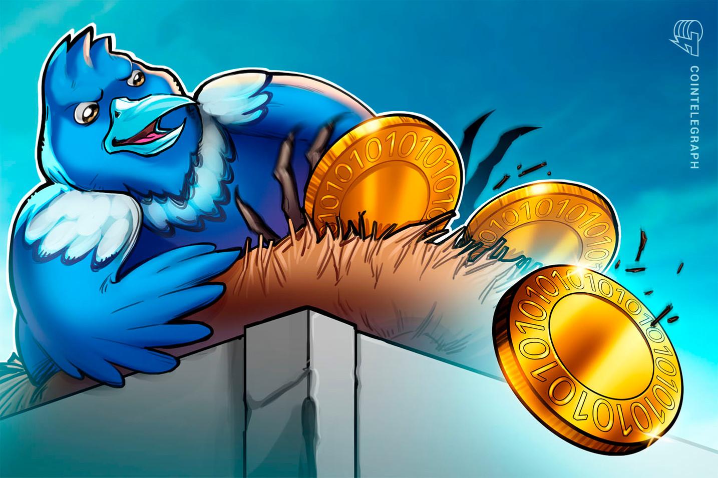 ツイッターで仮想通貨の無料配布をうたう詐欺アカ、1万5000個